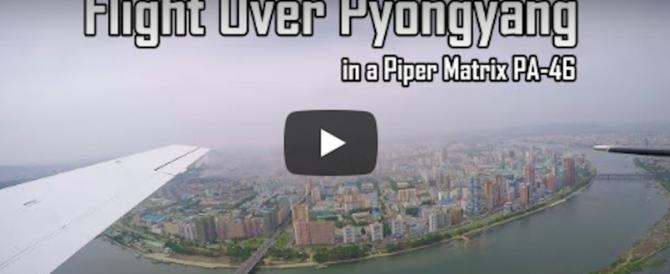 Pyongyang, un drone vola sulla roccaforte di Kim. E filma una città deserta… (video)
