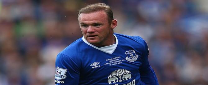 Rooney alla guida in stato d'ebbrezza: patente ritirata e 100 ore di servizi utili