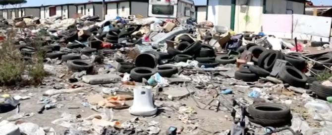Scabbia al campo rom di Castel Romano: c'è il rischio di contagio