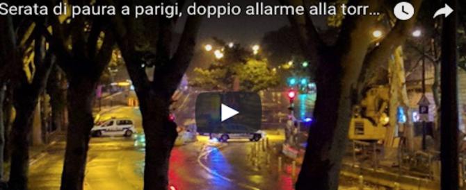 Panico a Parigi: alla Tour Eiffel un uomo grida Allah Akbar. Treni bloccati in stazione