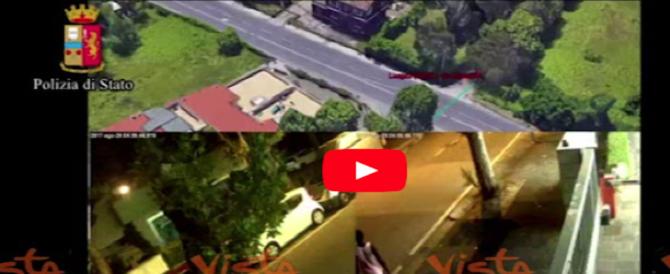 Rimini, i video con cui la polizia ha ricostruito gli spostamenti del branco