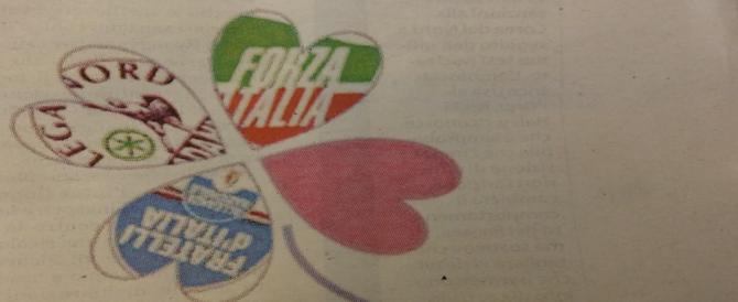 Berlusconi pensa al listone unico: per il centrodestra il simbolo del quadrifoglio?