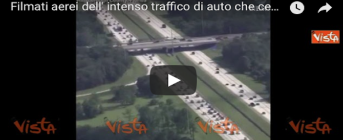 Uragano Irma, Florida in panico: auto in fuga dal ciclone letale intasano le strade (2 VIDEO)