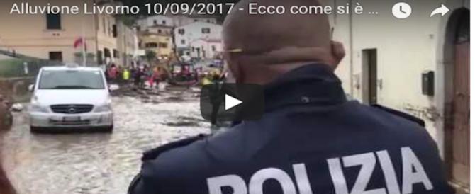 Livorno, apocalisse di fango: e M5s e Mdp litigano sulle colpe (Video)