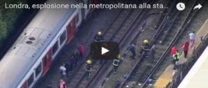 Corpi calpestati e avvolti dalle fiamme: la testimonianza di un italiano a Londra (Video)