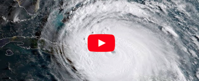 Dopo Irma è di nuovo paura: l'uragano Maria cresce in potenza e punta sui Caraibi (Video)