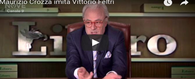 Crozza su Raiuno replica lo show in onda sul Nove: è bufera su Fabio Fazio (VIDEO)