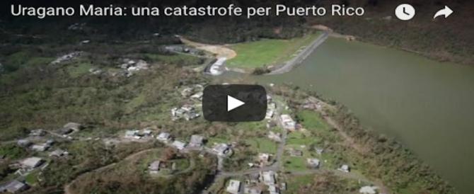 Porto Rico in ginocchio dopo l'uragano Maria: porti chiusi e dighe a rischio (VIDEO)