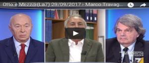 Lite in tv: Brunetta zittisce Travaglio, la Gruber minaccia di tirar fuori la frusta (VIDEO)