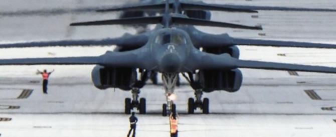 """Kim: """"Abbatteremo gli aerei Usa anche fuori dal nostro spazio aereo"""""""