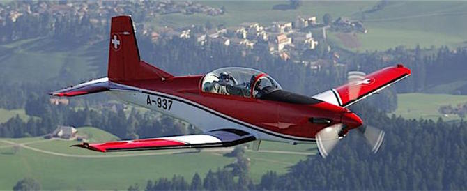 Risolto il giallo dell'aereo militare svizzero scomparso: è precipitato