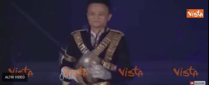 Il fondatore di Alibaba stupisce i dipendenti: imita Michael Jackson (video)