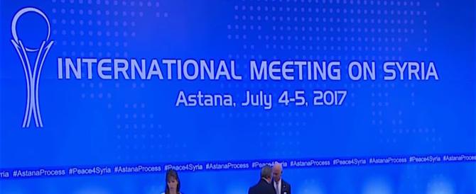 SIria, riparte l'Astana round tra Russia, Iran e Turchia: verso la pacificazione