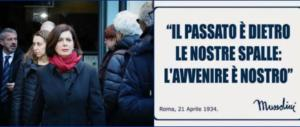 La Boldrini fa la conta delle pagine fasciste su fb: «Sono 300, vanno chiuse»