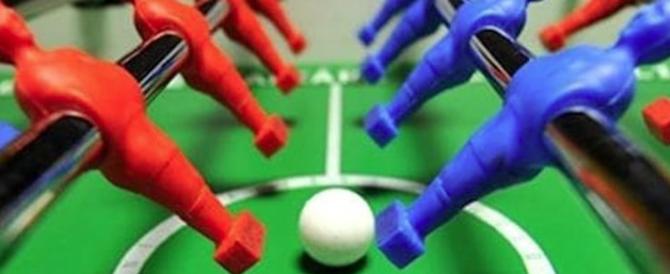 Legge Fiano: Fratelli d'Italia organizza per protesta un torneo di calcio-balilla