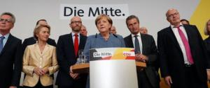Germania, batosta per la Cdu-Csu e tonfo per l'Spd: ora la Merkel è nei guai