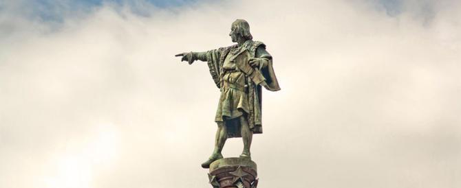 Attacco alle statue di Colombo: il vergognoso silenzio del governo