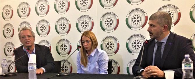 """Mentana conquista Casapound: """"Il vero coglione è chi non si confronta"""" (Video)"""