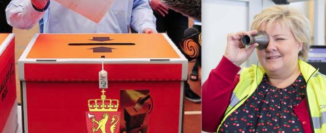 La Norvegia premia il buon governo del centrodestra di Erna Solberg