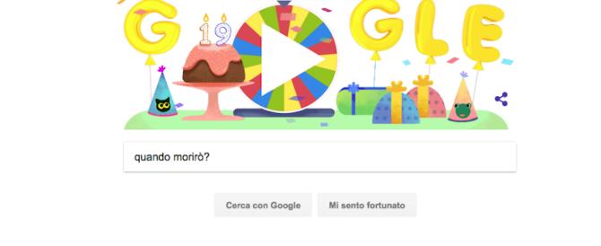 L'ultima moda del web: chiedere a Google la data della propria morte