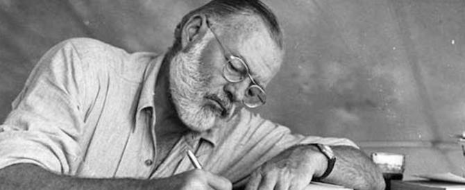 Scoperto il primo racconto di Hemingway: scritto a 10 anni sul diario scolastico