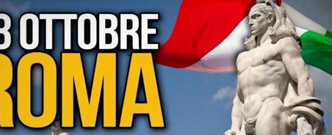 Forza Nuova, marcia dei patrioti a Roma il 28 ottobre. La sinistra: divieto subito