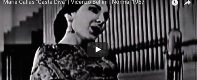 """Quarant'anni senza Maria Callas: la """"Divina"""" della lirica (video)"""