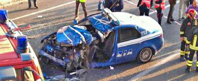 Polizia in lutto: morti due agenti in un incidente. Erano in azione