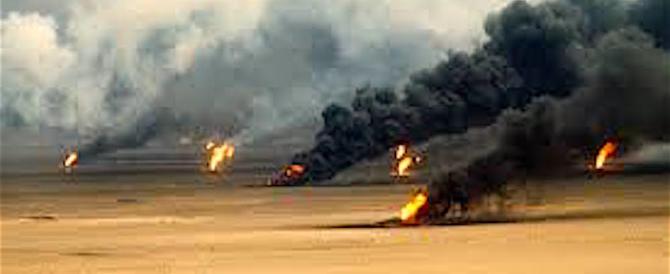 L'Isis in fuga dà fuoco ai pozzi petroliferi per fermare gli iracheni