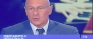 """""""Unomattina"""", Rampelli asfalta Fiano in diretta tv: la tua legge è demenziale (il video)"""