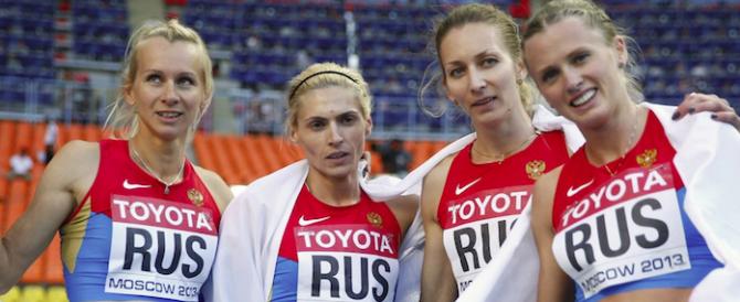 Doping, era un bluff l'accusa alla Russia: scagionati 95 atleti su 96