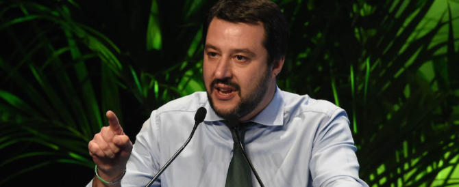 """Salvini """"scippato"""" dal Pd. Il nuovo marchio della Lega è già registrato…"""