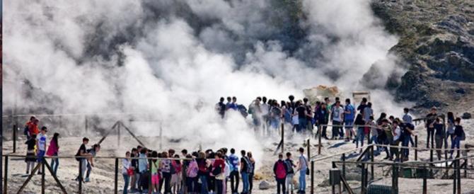 *** Flash – Esplosione nella Solfatara di Pozzuoli, 3 morti tra cui un bambino
