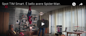 Spot Tim, ecco chi si nasconde dietro alle acrobazie di Spiderman (video)