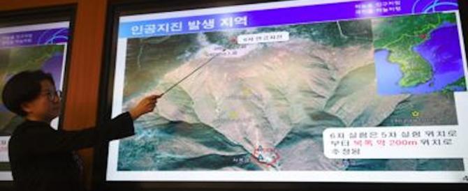 Corea del Nord, nuovo sisma nella zona dei test nucleari. È giallo esplosione