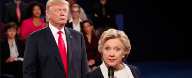 """Per la Clinton """"il pericolo mondiale"""" non è Kim Jong-un ma Donald Trump"""