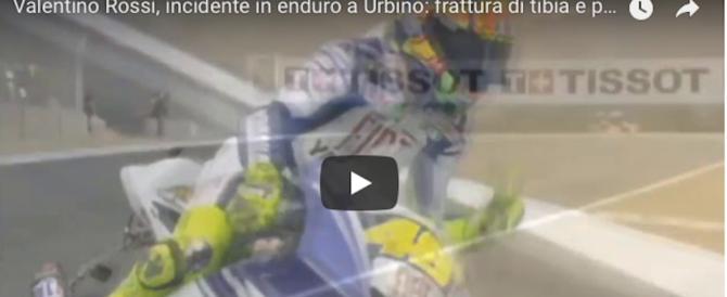 L'incidente di Valentino Rossi. Il padre pessimista: «Le cose non vanno bene» (video)