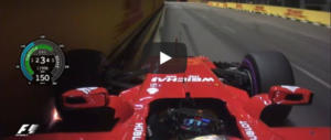 Vettel in pole a Singapore, giro record. Un video dall'auto regala brividi