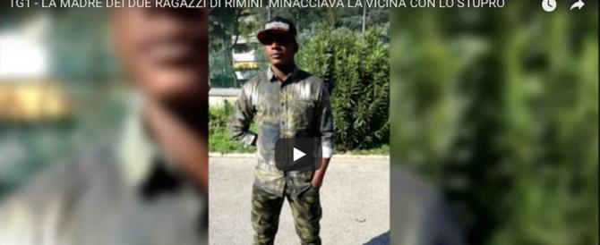 Rimini, la madre dei violentatori alla vicina: «Ti faccio stuprare dai miei figli» (video)