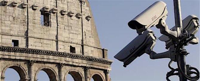 Il Campidoglio ha inviato il progetto videosorveglianza a tempo scaduto
