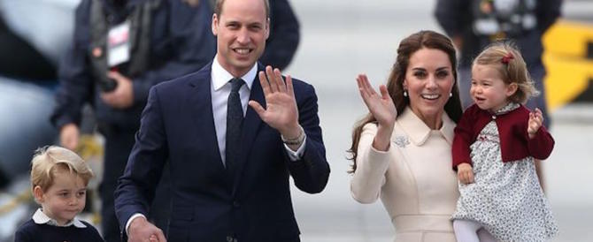 William e Kate in attesa del terzo figlio. E la regina è «felicissima»