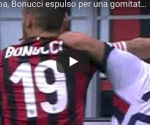 Mano dura contro Bonucci: due turni di squalifica per la gomitata (video)