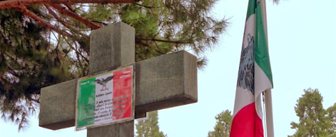 I combattenti di Salò ricordano le vittime innocenti dei partigiani, l'Anpi insorge