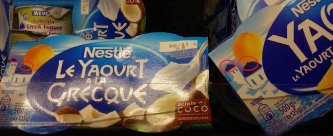 La Nestlé come la Lidl: per non turbare gli islamici toglie le croci dallo yogurt