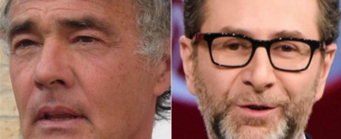 """Fazio in crisi, Giletti lo sfida su """"La7"""": vuole umiliare il cocco della sinistra"""