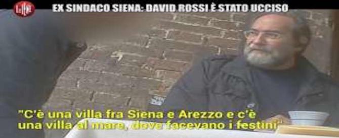 «David Rossi fu ucciso». Ecco cosa ha detto alle Iene l'ex sindaco di Siena