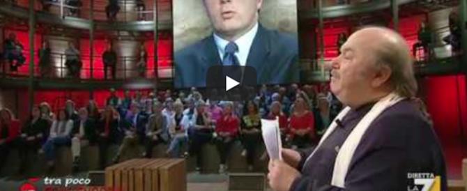 Lino Banfi imita Renzi e lo massacra: «Guardate come cammina adesso» (video)