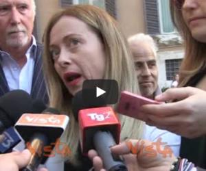 Meloni: «Di Maio vuole l'Osce in Sicilia? Mandiamola alle primarie M5S» (video)