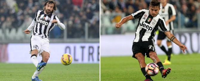 Calcio, Pirlo dice basta. E Dybala è nella lista per il Pallone d'oro