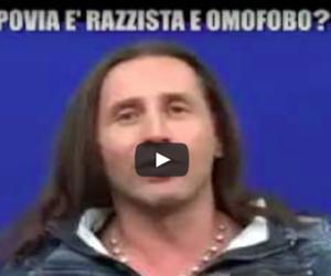 Povia: «Hanno crocifisso Berlusconi ma aveva ragione su Gheddafi»